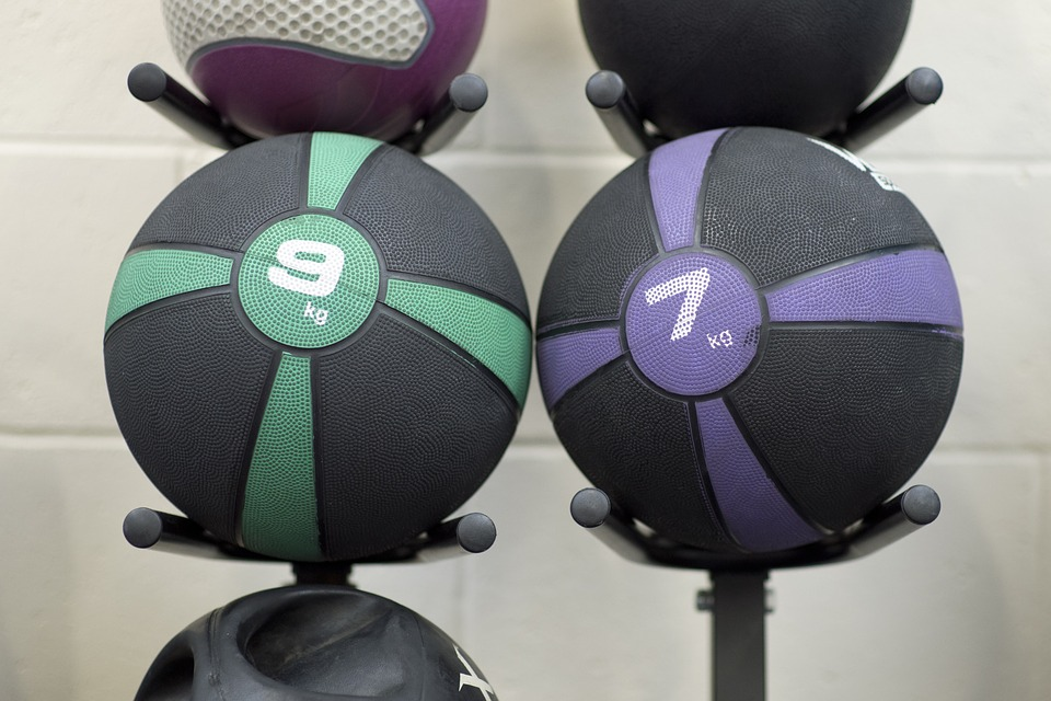 Medicine balls are a great tool to build your strength for basketball.